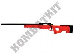 M57A BB Gun L96 Replica Spring Airsoft Sniper Rifle 2 Tone Black Orange